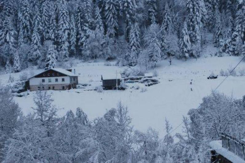 Location de vacances - Gîte à Sapois - Sous la neige