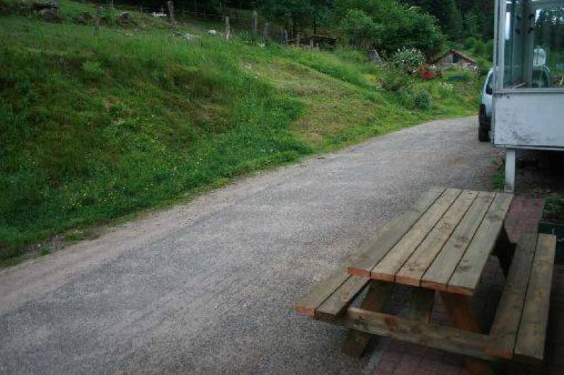 Location de vacances - Gîte à Sapois - Voie privée donc très sécurisée pour les enfants