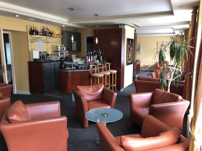 Location de vacances - Hôtel - Auberge à Saint-Thégonnec - Bar
