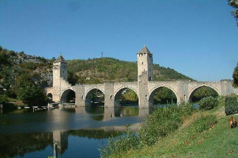 Location de vacances - Gîte à Saint-Maurice-en-Quercy - Le Pont Valentre, Cahors