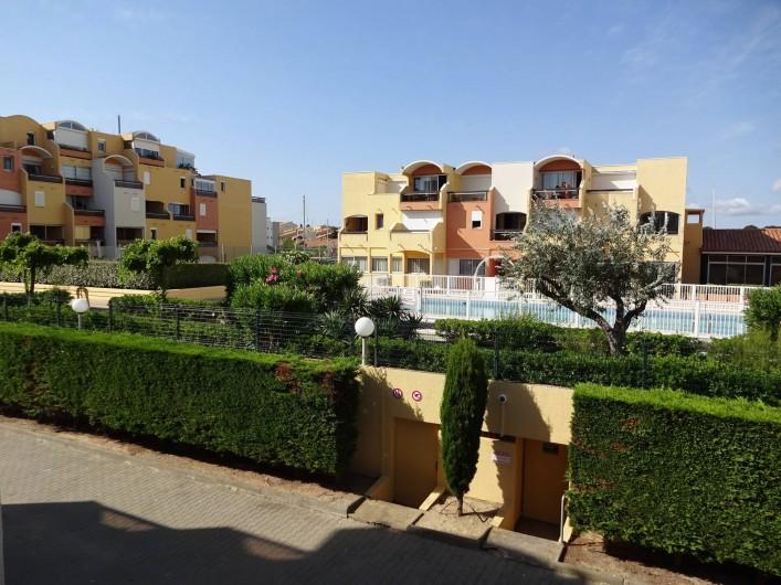 Location de vacances - Appartement à Gruissan