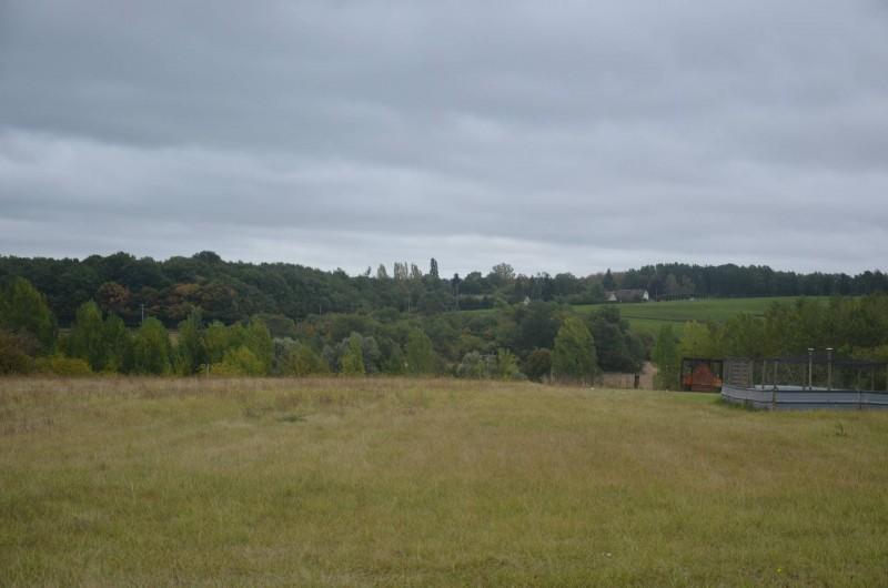 Location de vacances - Gîte à Saint-Romain-sur-Cher - Vue sur la campagne de la cour du gîte