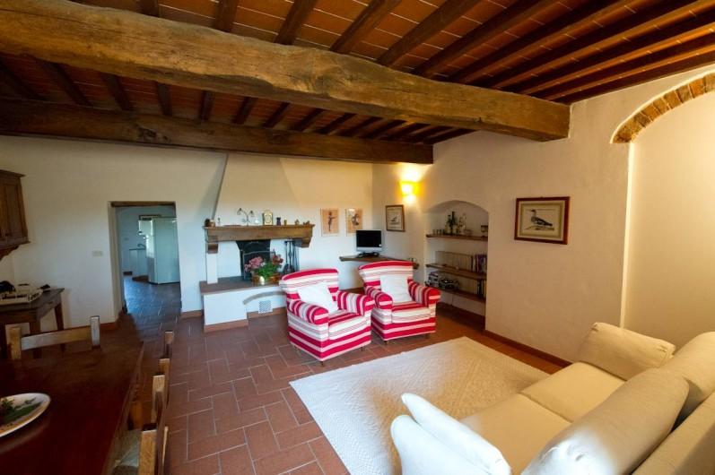 Location de vacances - Chalet à San Casciano in Val di Pesa - Living  room