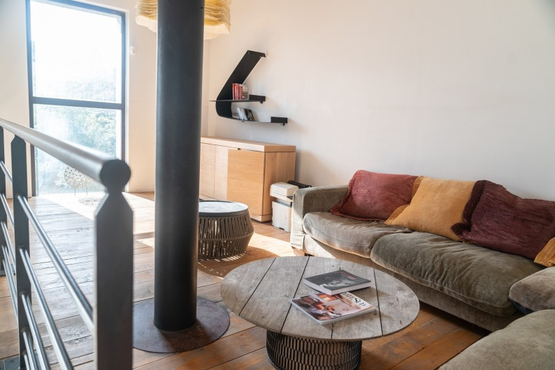 Location de vacances - Mas à Montpellier - Salon mezzanine