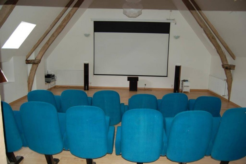 Location de vacances - Gîte à Saint-Médard-d'Excideuil - Salle de cinéma