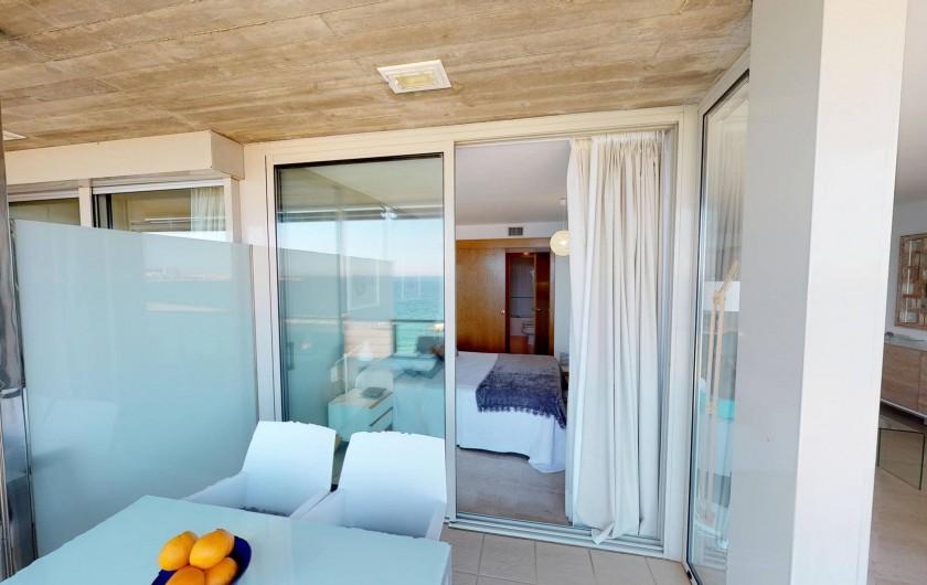 Location de vacances - Appartement à Sant Antoni de Calonge - balcón - terrasse suite parentale