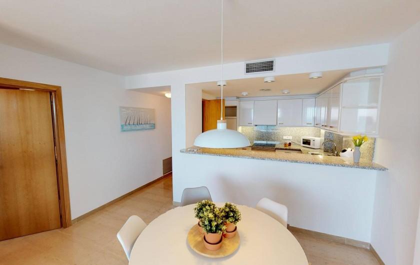 Location de vacances - Appartement à Sant Antoni de Calonge - coin cuisine