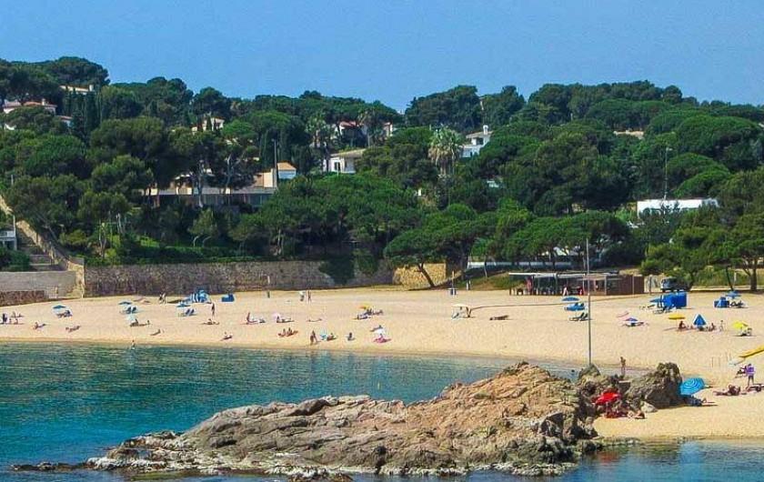 Location de vacances - Appartement à Sant Antoni de Calonge - Sant Antoni de Calonge - crique du chemin de Ronda