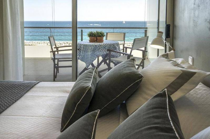 Location de vacances - Appartement à Sant Antoni de Calonge - est ce que vous aimeriez vous reveiller chaque matin avec cette vue panoramique?