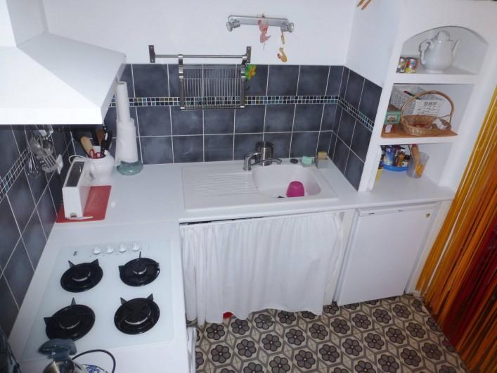 Location de vacances - Appartement à Six-Fours-les-Plages - Cuisine 2