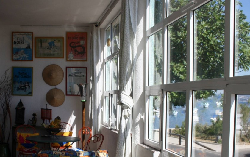 Location de vacances - Appartement à Six-Fours-les-Plages - La véranda1