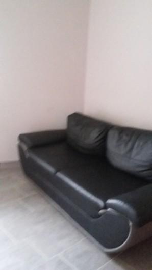 Location de vacances - Appartement à Divajeu - le canapé