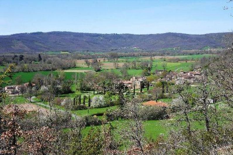 Location de vacances - Gîte à Cordes-sur-Ciel - Le village de Labarthe-bleys