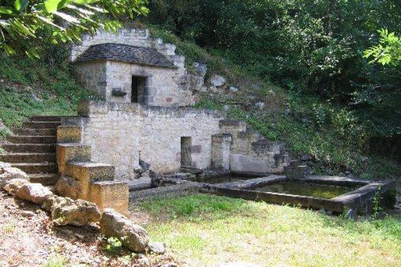 Location de vacances - Gîte à Cordes-sur-Ciel - Le lavoir de la Treyne