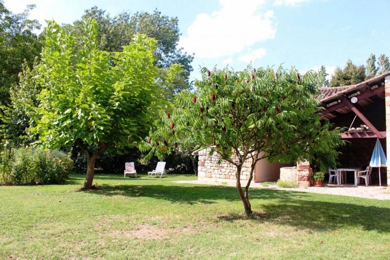 Location de vacances - Gîte à Cordes-sur-Ciel - Le jardin