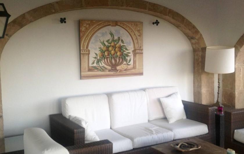 Location de vacances - Villa à Xàbia - AUTRE SALON EN ALIGNEMENT DE LA SALLE A MANGER