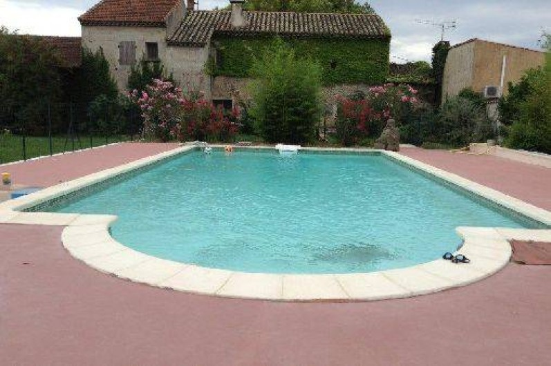 Location de vacances - Villa à Violes - Grande piscine (11x5)