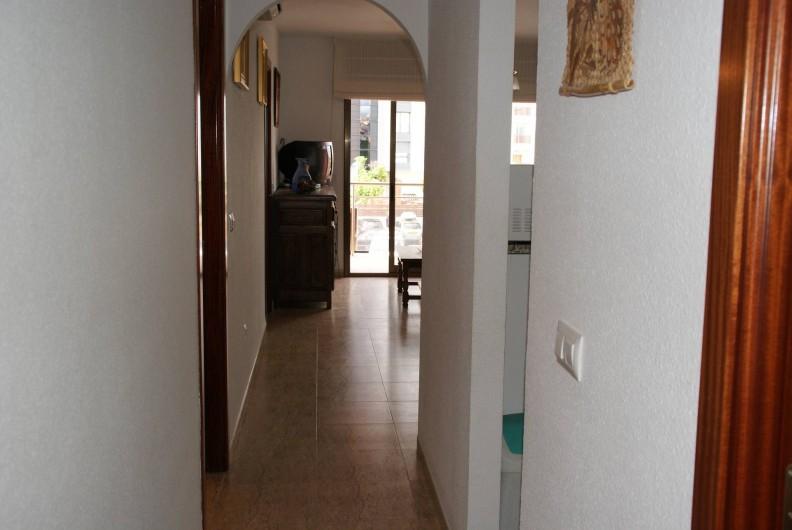 Location de vacances - Appartement à Empuriabrava - Couloir