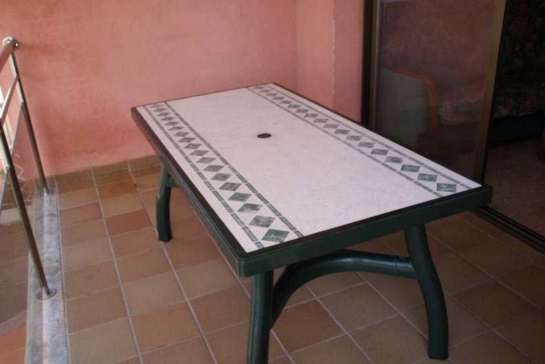 Location de vacances - Appartement à Empuriabrava - Balcon