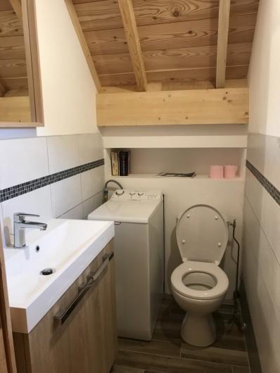 Location de vacances - Appartement à Le Monêtier-les-Bains - WC