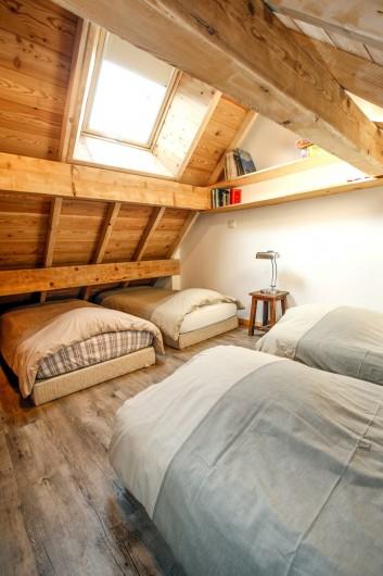 Location de vacances - Appartement à Le Monêtier-les-Bains - Couchages mezzanine