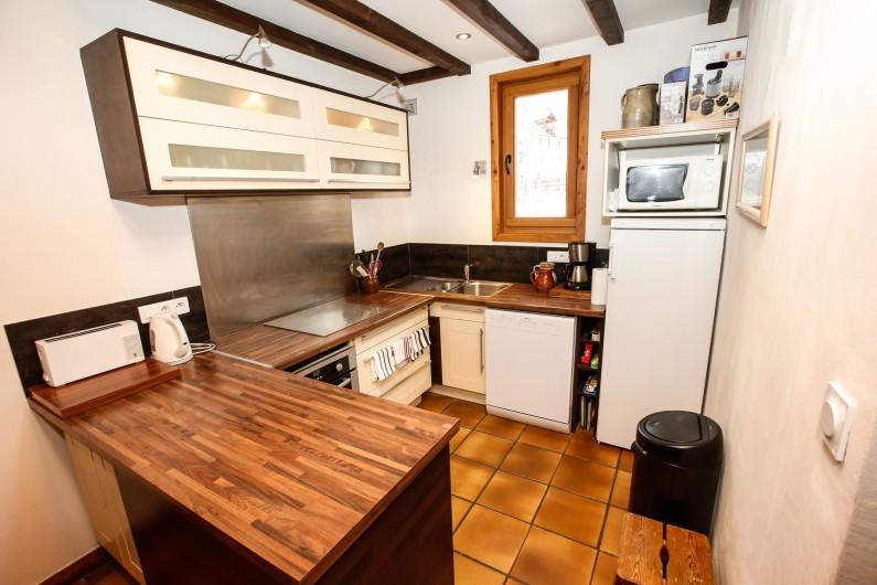Location de vacances - Appartement à Le Monêtier-les-Bains - Cuisine ouverte