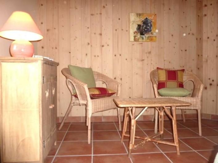 Location de vacances - Chambre d'hôtes à Saint-Laurent-d'Oingt - Chambre Horizon