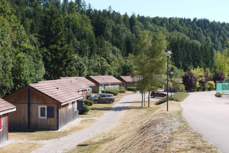 """Location de vacances - Chalet à Foncine-le-Haut - Vue sur les 14 HLL du """"Val de Saine"""