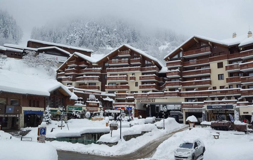 Location de vacances - Appartement à Champagny-en-Vanoise - Résidence.