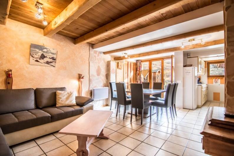 Location de vacances - Appartement à Valloire - pièce a vivre