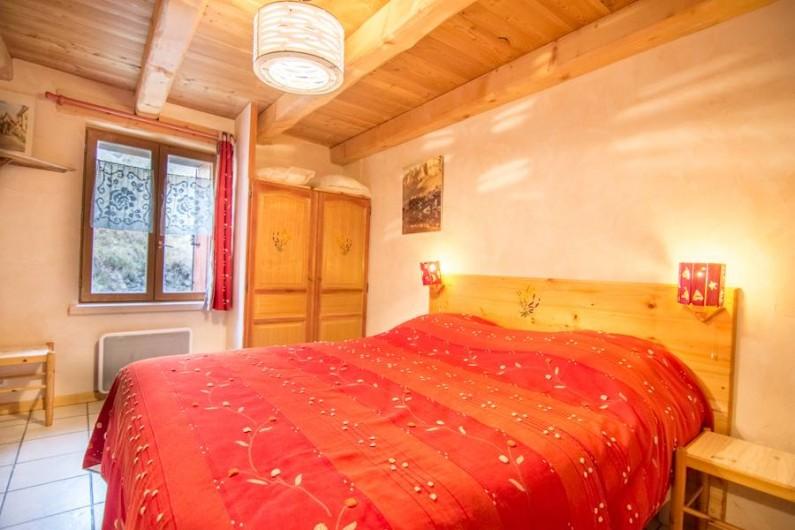 Location de vacances - Appartement à Valloire - chambre 2 lit king sin