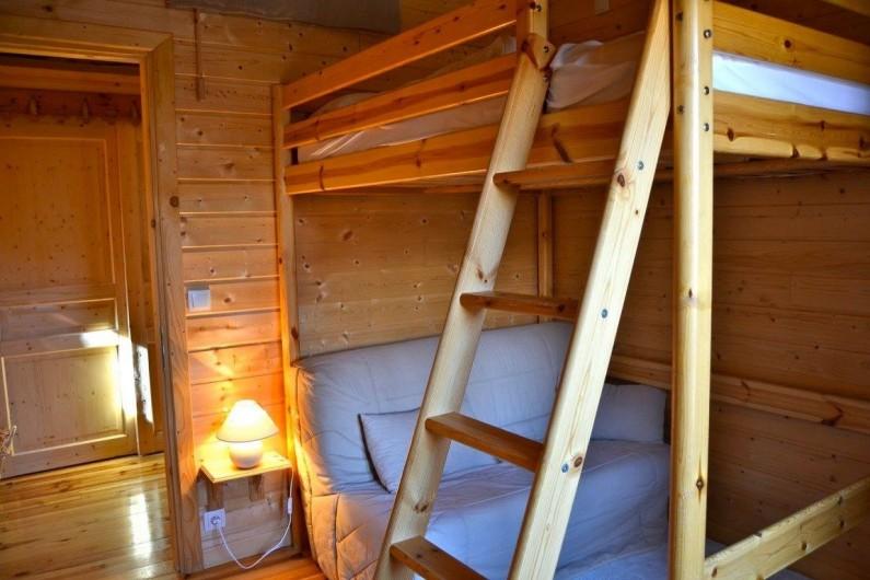 Location de vacances - Chalet à La Joue du Loup - CHAMBRE 2 LIT 140/190 & BZ 140/190