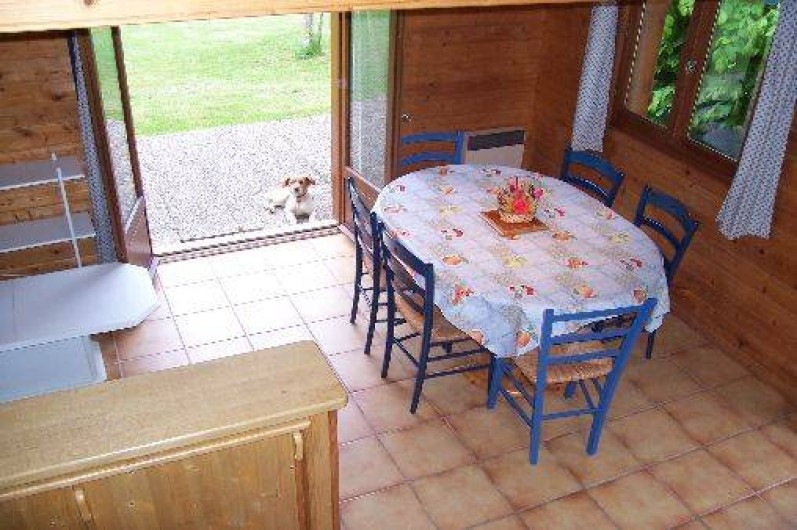 Location de vacances - Chalet à Camps-Saint-Mathurin-Léobazel