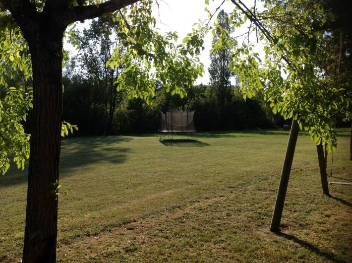 Location de vacances - Chalet à Vergt-de-Biron - Trampoline