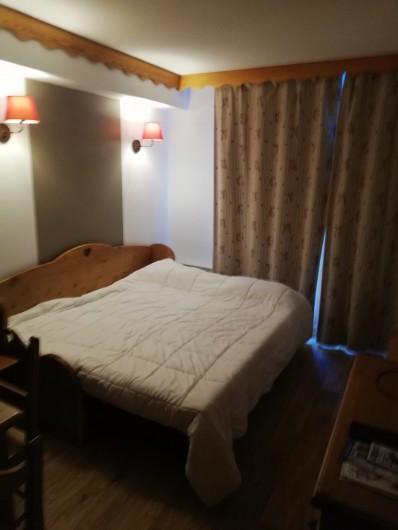 Location de vacances - Appartement à Les Orres - lit SALON