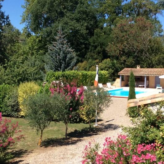 Location de vacances - Gîte à Cournanel - Piscine du propriétaire avec accès limité