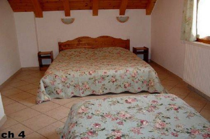 Location de vacances - Chalet à Valloire - chambre 4