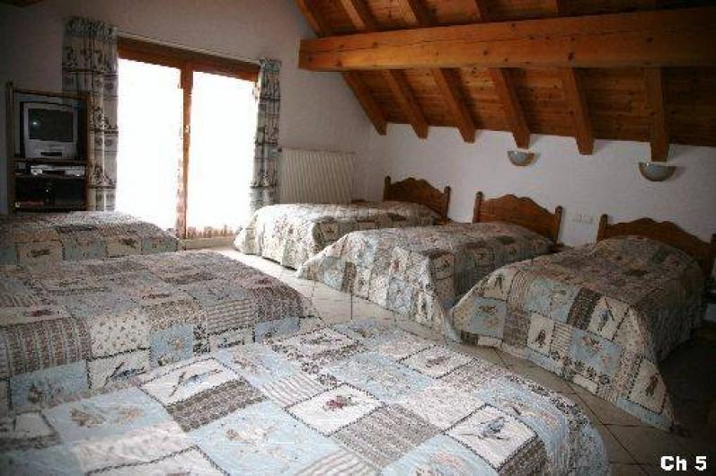 Location de vacances - Chalet à Valloire - chambre 5