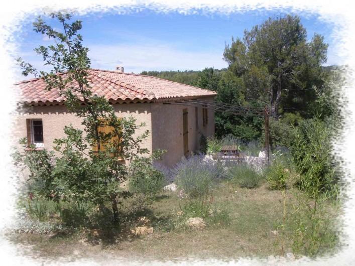 Location de vacances - Villa à Jouques - Villa coté Sud