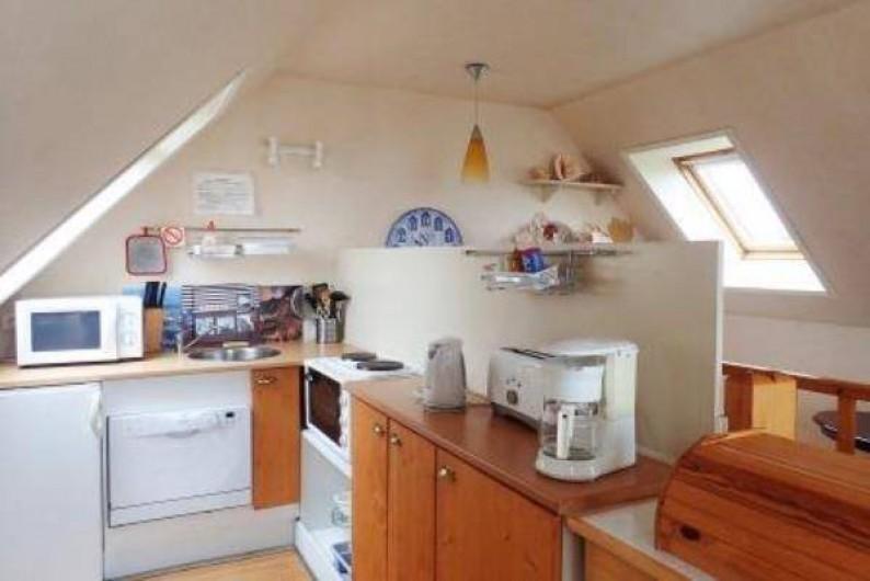Location de vacances - Gîte à Saint-Jean-du-Doigt - cuisine entièrement aménagée