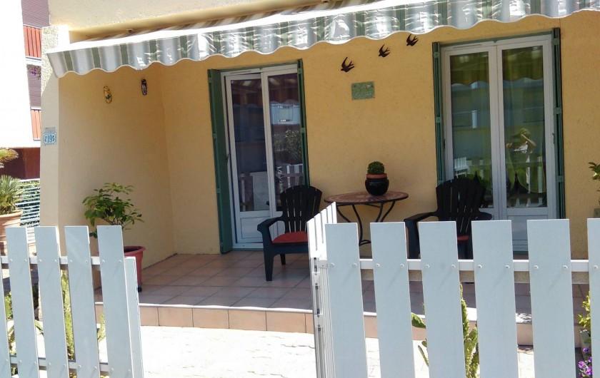 Location de vacances - Maison - Villa à Port-la-Nouvelle - facade