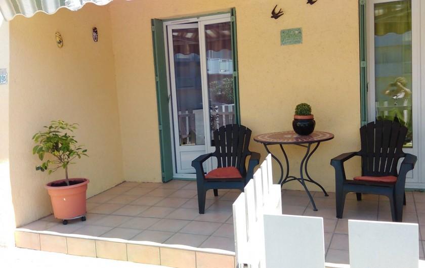 Location de vacances - Maison - Villa à Port-la-Nouvelle - facade en angle