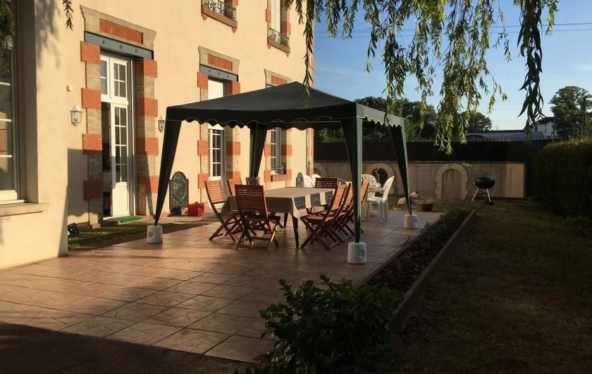 Location de vacances - Gîte à Raon-l'Étape - Terrasse