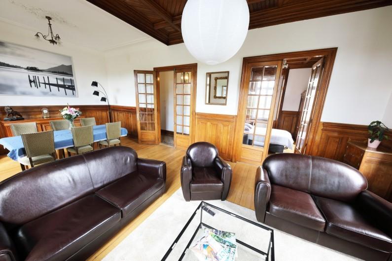 Location de vacances - Gîte à Raon-l'Étape - 1er étage - Salon