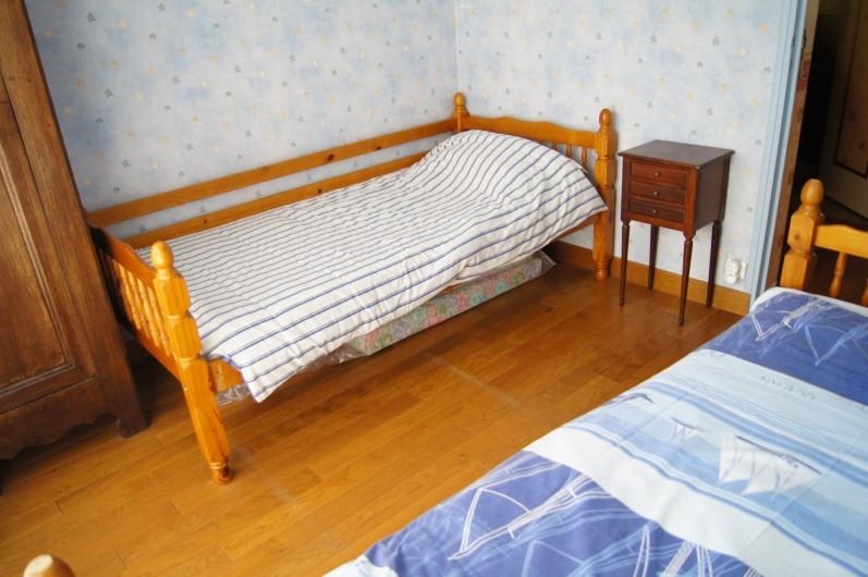 Location de vacances - Appartement à Saint-Malo - Chambre enfants (deux lits 90x190)