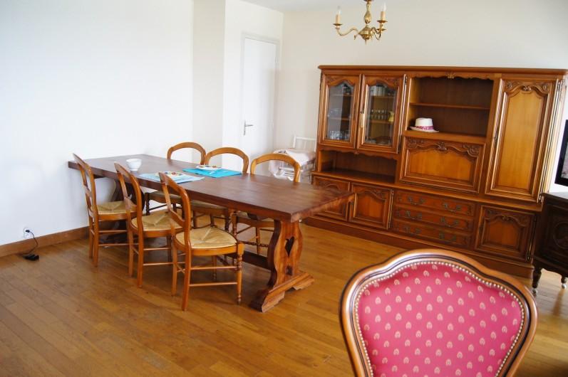 Location de vacances - Appartement à Saint-Malo - Salle à manger