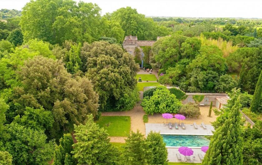 Location de vacances - Chambre d'hôtes à Béziers - Espace piscine