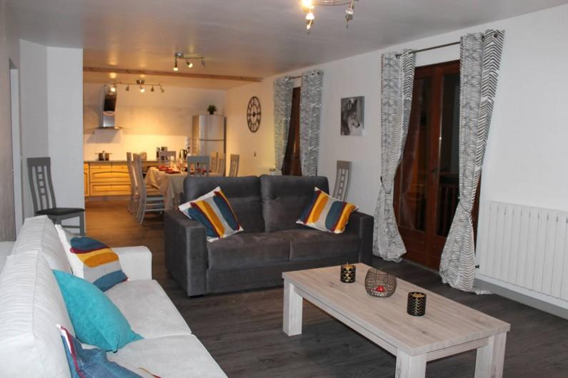 Location de vacances - Appartement à Valloire - vue d'ensemble pièce de vie