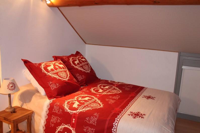 Location de vacances - Appartement à Valloire - CHAMBRE 3- lit de 140