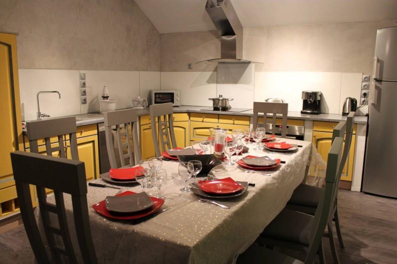 Location de vacances - Appartement à Valloire - Cuisine et coin repas